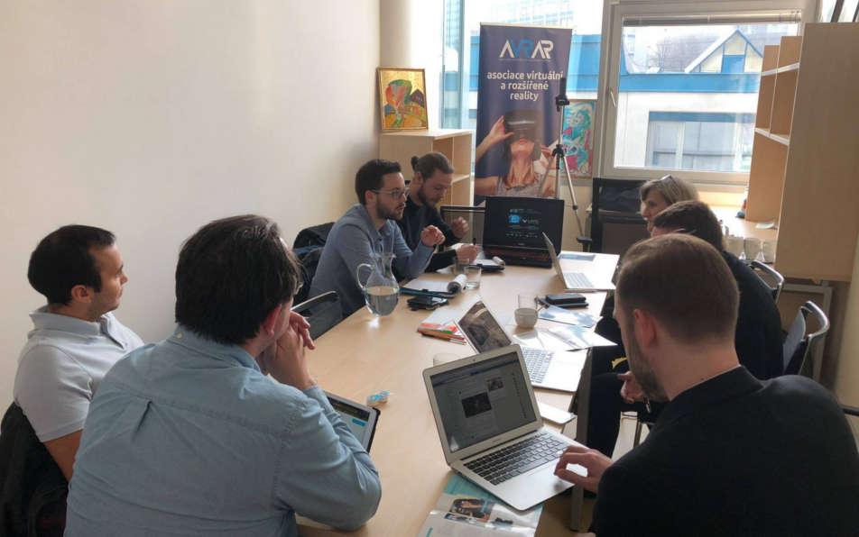 Navštívila nás francouzská delegace Laval Virtual